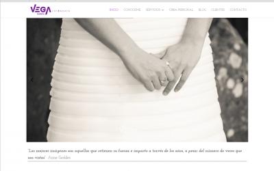 Nuevo portal web de fotografía para Vega García (fotógrafa)