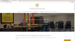 Nueva web para Colegio Oficial de Graduados Sociales de Álava
